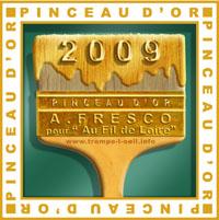 Pinceau d'or 2009 Fresque Au fil de Loire à Brives-Charensac